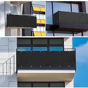 Amazon De Sekey Balkon Sichtschutz Balkonabdeckung