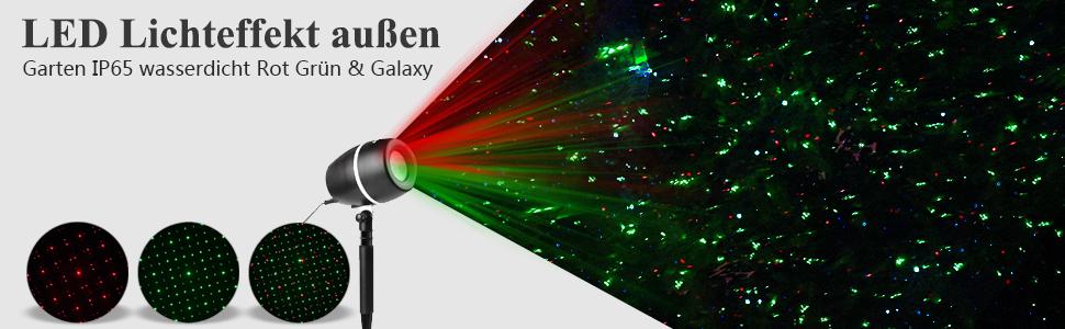 salcar galaxy led lichteffekt innen au en ip65 3 farben modi 24 dynamische und. Black Bedroom Furniture Sets. Home Design Ideas
