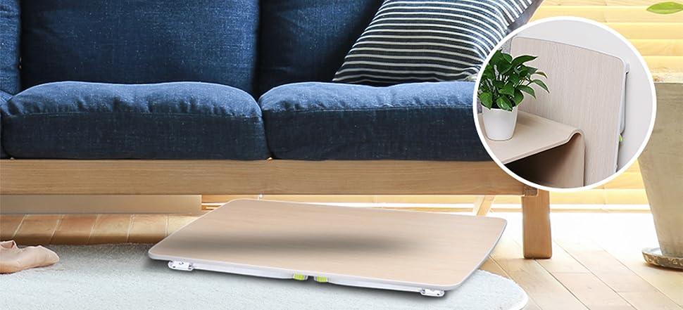 salcar laptoptisch laptop betttisch faltbar lapdesk notebook lese tisch stabiler u f rmige. Black Bedroom Furniture Sets. Home Design Ideas
