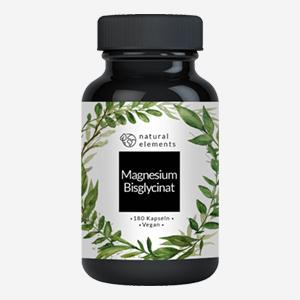 Magnesiumbisglycinat Magnesium Chelat 180 Kapseln 100mg