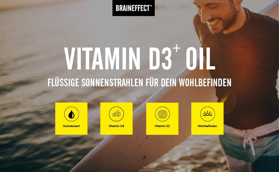 BRAINEFFECT Vitamin D3 + K2