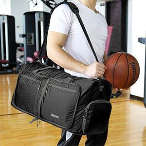 Leichter Faltbare Reise-Gepäck Handgepäck Duffel Taschen Übernachtung Taschen/Sporttasche für Reisen