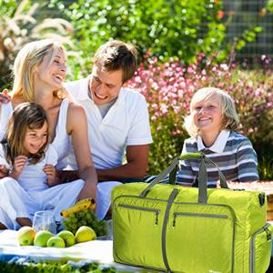 Faltbare Reisetasche Leichte Sporttasche 80L Bag für Leichter reisegepäck Travel Gym trainingstasche