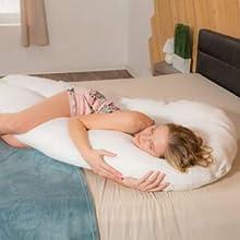 seitenschläferkissen schwangerschaft u pillow u kissen schwangerschaft ganzkörper- kissen