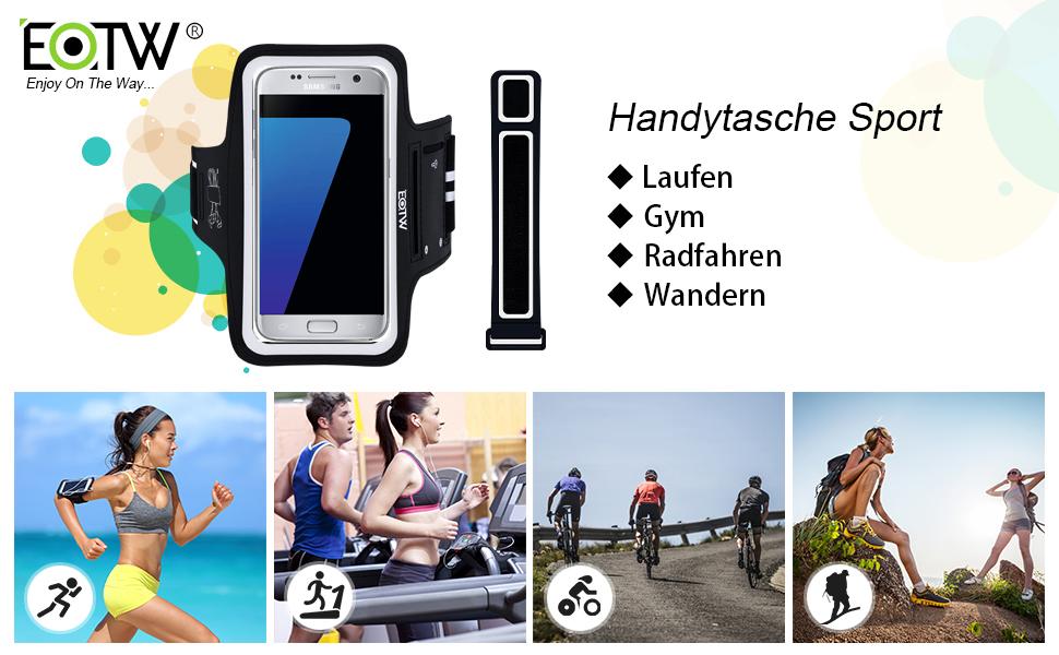 2017 Sportarmband Schutztasche Samsung Galaxy J5 Fitness Laufen Joggen Handyhü