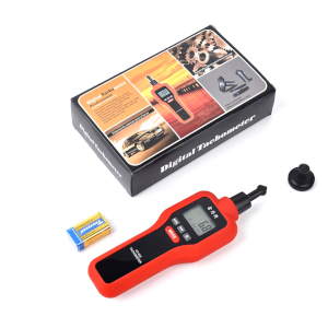 Komerci Ht 522 Laser Umdrehungsmesser Tachometer Drehzahlmesser Messung Mit Laserstrahl Oder Kontaktmessung Gewerbe Industrie Wissenschaft
