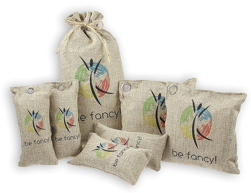 be fancy! ♻ 4x 75g nachhaltiger bambus aktivkohle luftreiniger ... - Bambus Mobel Produkte Nachhaltigkeit