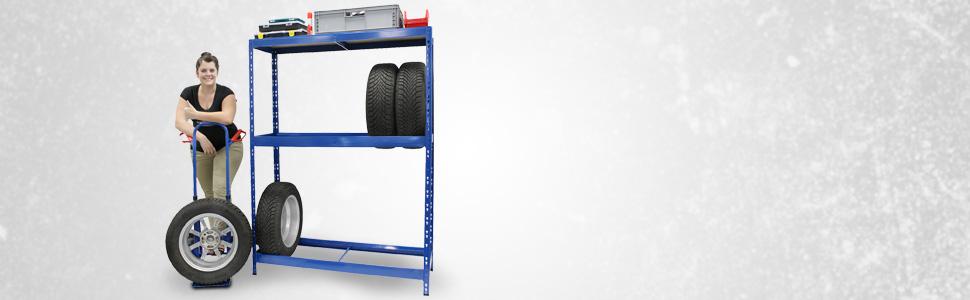 Mega Deal Étagère pour pneus