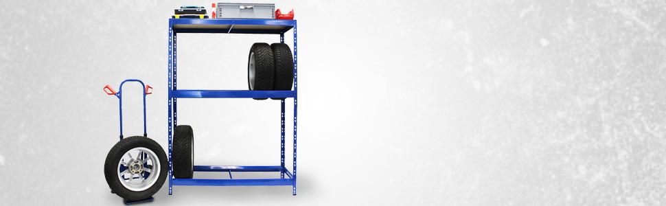 Certeo Étagère à pneus