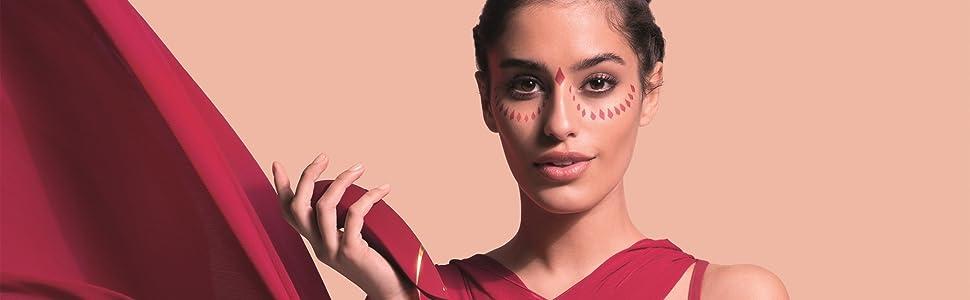 Womanizer Premium Auflege-Vibrator Klitoris-Sauger Intim-Stimulator Gleitgel Red Gold