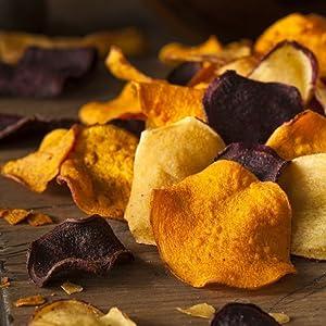 Leckere Chips herstellen ob Grünkohl, Rote Beete oder Süßkartoffel
