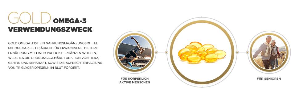 Gold Omega-3 Verwendungszweck
