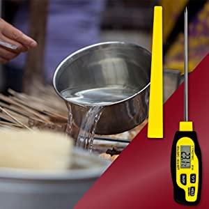 Trotec Bt20 Digitales Küchenthermometer Einstechthermometer Lebensmittelthermometer Bratenthermometer Messbereich Von 40 C Bis 250 C Baumarkt