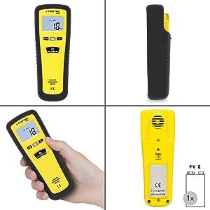 TROTEC Kohlenmonoxid Messgerät BG20CO-Messgerät CO-Sensor Kohlenmonoxidmelder