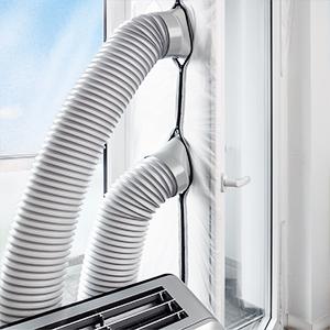 trotec airlock 1000 t r und fensterabdichtung f r mobile klimager te klimaanlagen und. Black Bedroom Furniture Sets. Home Design Ideas