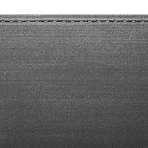 Braun HDPE Zaunblende Windschutz Netz Schattier Tennisblende 95/%