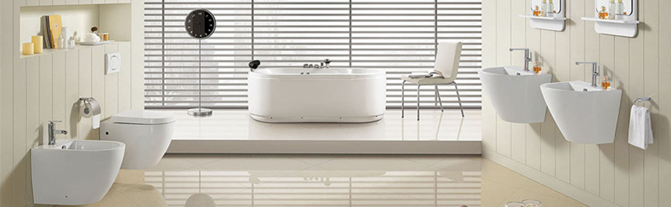 Antibakteriell WOLTU WS2876 Toilettendeckel V-Form WC Deckel Sitz Absenkautomatik Fast Fix//Schnellbefestigung Duroplast Softclose Scharnier