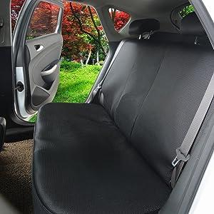 EUGAD 0005QCZT Autositzbezug Sitzbez/üge Schonbezug Sitzschoner schwarz