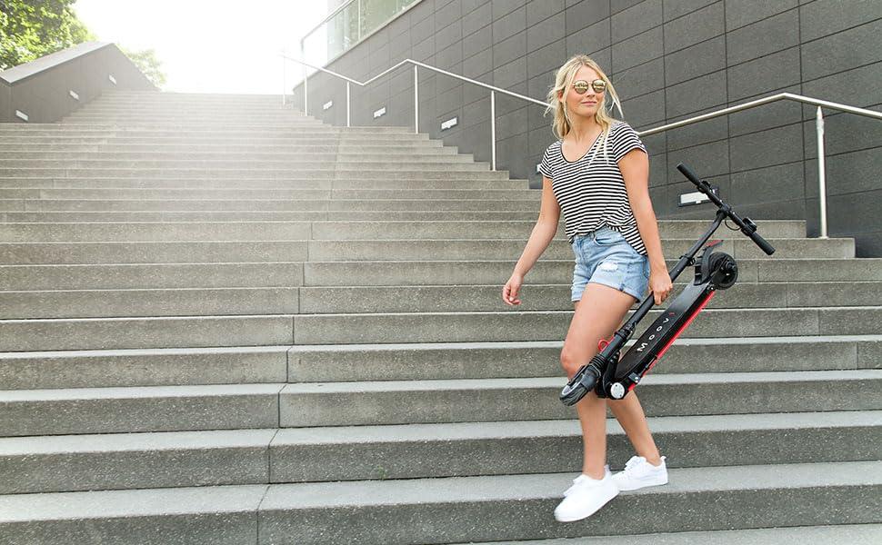 Moovi StVO E-Scooter mit Straßenzulassung Test