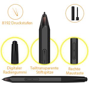 grafiktablett stift pen maus xp pen graphics tablet