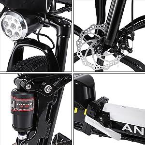 21速Shimano电动自行车