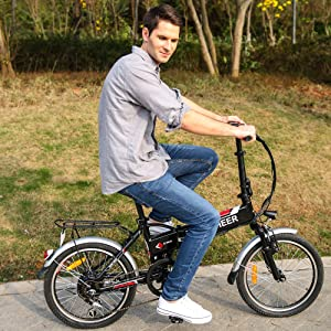 ancheer e bike