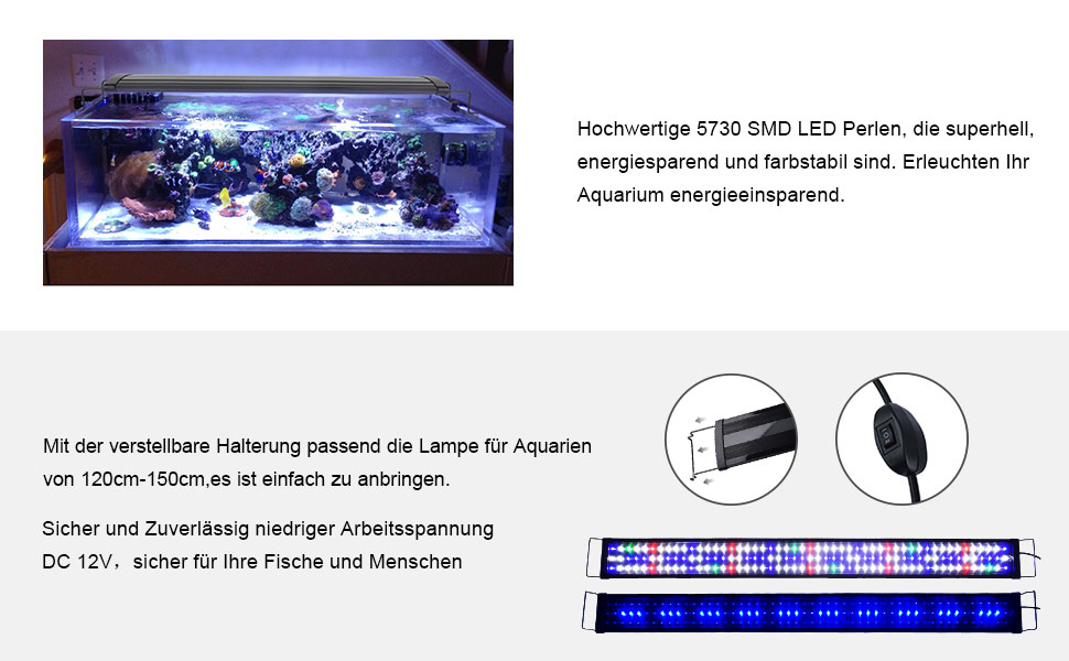 Einfach Sera Led Adapter Fische & Aquarien Beleuchtung & Abdeckungen Halterungen Für Sera Led Tubes ZuverläSsige Leistung
