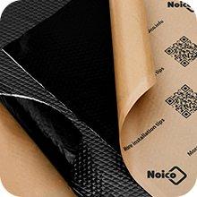 Voertuig geluidsisolatie, geluidsisolatie, geluidsisolatie, geluidsbeschermingsmat.