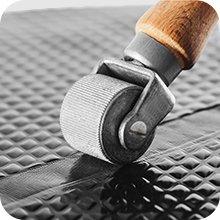 Akoestische isolatie absorptiemat, akoestische absorberende akoestische mat.