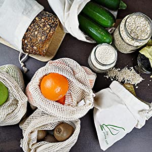 Obst Gemüsebeutel Brotbeutel Einkaufstasche