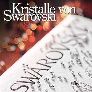 Kristalle von Swarovski