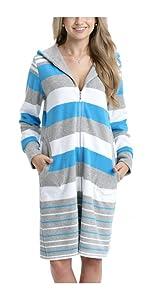 4108c94a27 Alkato Damen Maxi Slip mit Alloverdruck 10er Pack · Alkato Damen Shirt 3/4  Arm Rundhalssusschnitt Stretch · Aquarti Damen Bademantel mit Kapuze ...