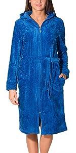 826d7319c9 Alkato Damen Slips mit Muster 10er Pack · Alkato Damen Shirt 3/4 Arm  Rundhalssusschnitt Stretch · Aquarti Damen Bademantel mit Reißverschluss  Lang ...