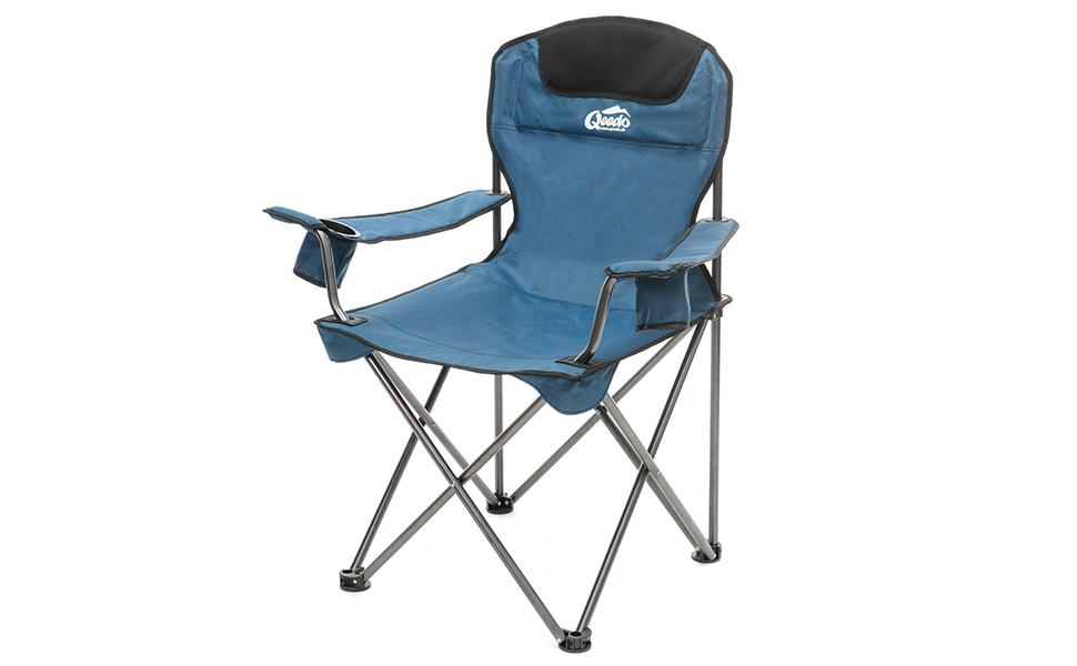 Qeedo GetränkehalterFestivalstuhl Blau Stuhl Johnny Bis Camping KgKlappstuhl Xl Mit 150 WeH9YED2I