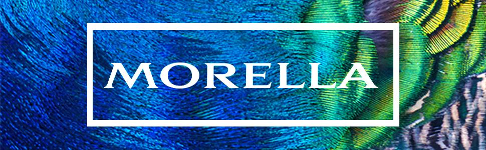 Morella Stoff Halskette 80 cm mit Edelstein Tropfen Anhänger Lapislazuli im Schmuckbeutel