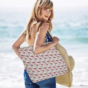 Tasche Beachbag Strandtasche Umhängetasche Schultertasche Frauen Damen DonDon xxl große kleine xl