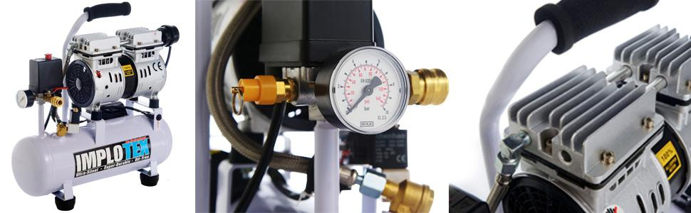 480 Watt Flüster Sompressor - Silent Compressor