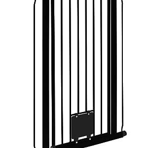 impag nala hundegitter t rschutzgitter breite von 75 cm bis 149 cm extrahoch 105 cm zum. Black Bedroom Furniture Sets. Home Design Ideas
