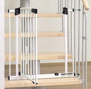 impag treppenschutzgitter swing f r gel nder inkl 2 y adapter passend f r 73cm 142cm. Black Bedroom Furniture Sets. Home Design Ideas