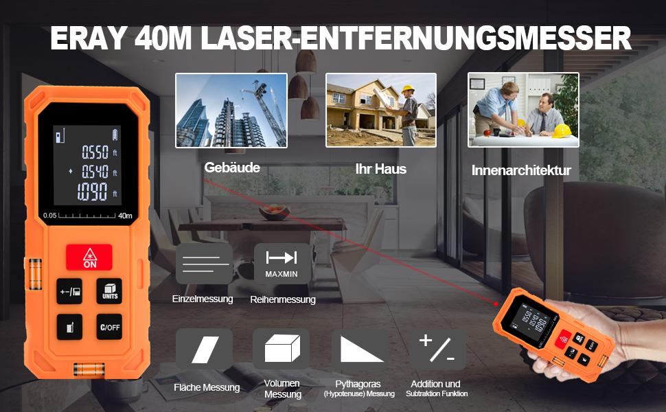 Laser Entfernungsmesser Lidl : Eray laser entfernungsmesser m ± mm mit lcd