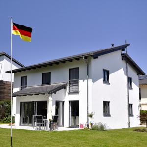 flagmaster alu fahnenmast 6 5m deutschlandfahne. Black Bedroom Furniture Sets. Home Design Ideas