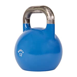 powrx kettlebell kugelhantel competition wettkampf 4 48 kg 1x blau 12 kg sport. Black Bedroom Furniture Sets. Home Design Ideas
