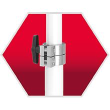 F/ür Handwerk und Industrie 80kg 3 St/ück MULTISPANN/® Montagest/ütze Max MS-MS80-310 Deckenst/ütze mit innovativem 3-Spannsystem Made in Germany Bis 310cm