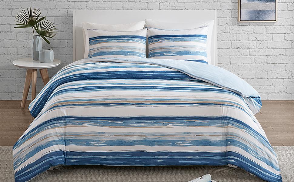 140x200 Schönes Muster Bettwaren, -wäsche & Matratzen PüNktlich Weiße Neue Mako-damast-bettwäsche 4 Tlg