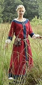 Mittelalter Kleid Gudrun