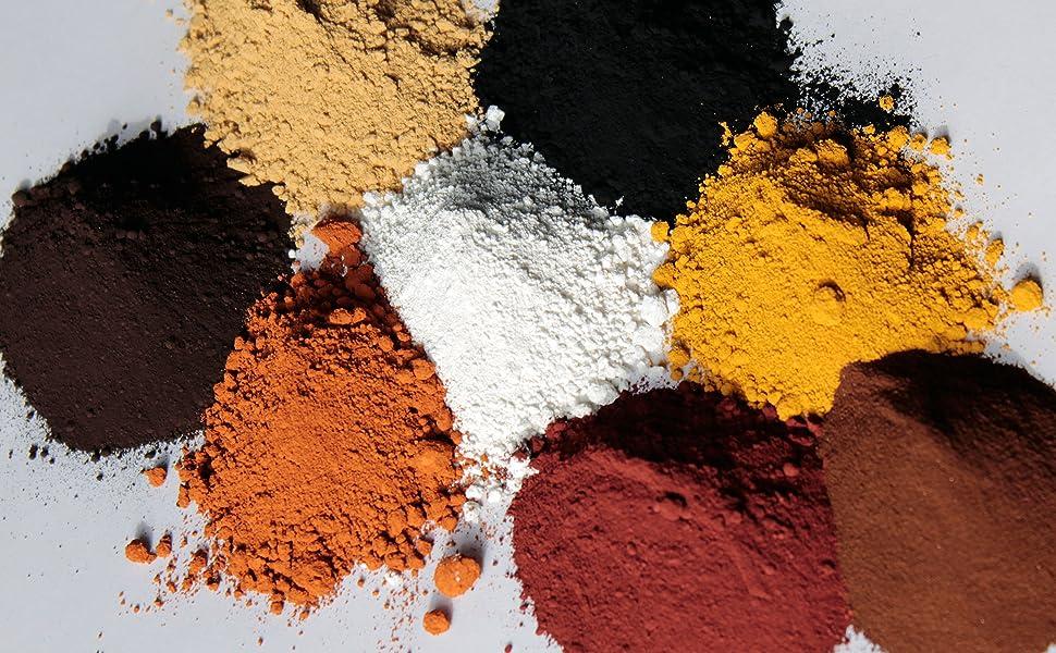 tec premium pigmentpulver eisenoxid oxidfarbe 1kg farbpigmente trockenfarbe f r beton. Black Bedroom Furniture Sets. Home Design Ideas