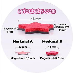 Tablica nagradzająca, magnetyczna, zabawka, edukacyjna, dla dzieci, magnesy, gumowa, eva, aeioubaby