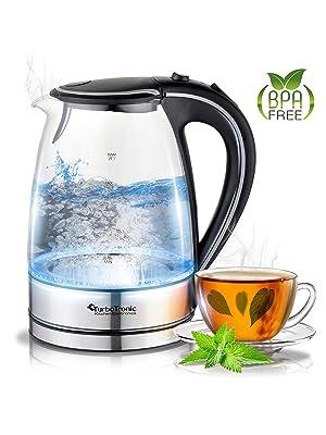 Wasserkocher mit Tee