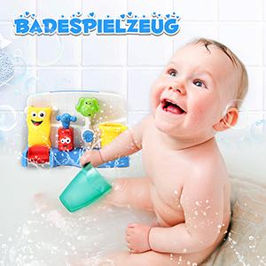 FUNTOK Badespielzeug Wasserspiel Wasserspielzeug