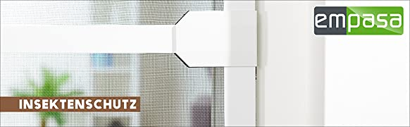 Favorit Insektenschutz Fenster Basic 120 x 140 cm mit Alurahmen in Weiß OR81